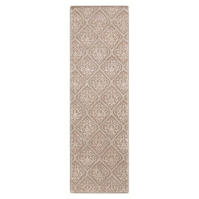 Modern Classics Dove Gray Area Rug Rug Size: Runner 26 x 8