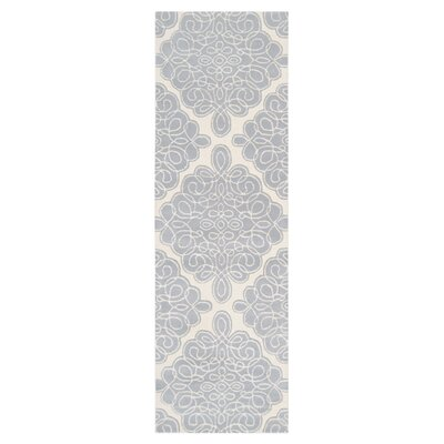 Modern Classics Cream Area Rug Rug Size: Runner 26 x 8