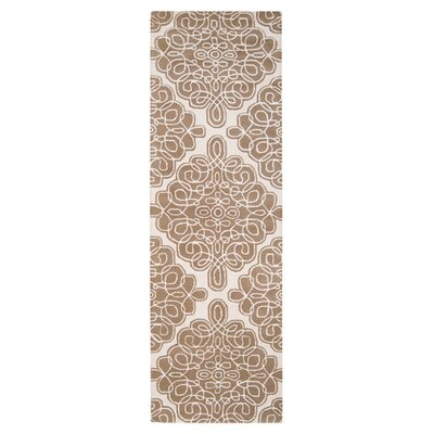 Modern Classics Off White Area Rug Rug Size: Runner 26 x 8