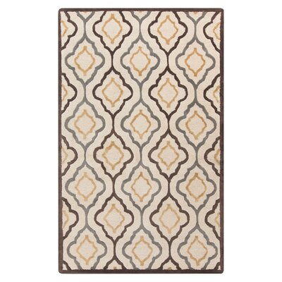 Modern Classics Ivory Area Rug Rug Size: Rectangle 33 x 53