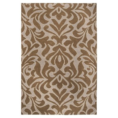 Market Place Cloud Brown/Ivory Area Rug Rug Size: Rectangle 8 x 11