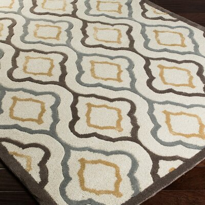 Modern Classics Ivory Area Rug Rug Size: Rectangle 5 x 8