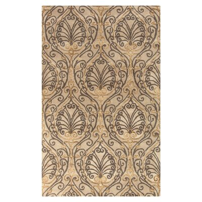 Modern Classics Taupe Area Rug Rug Size: Rectangle 8 x 11