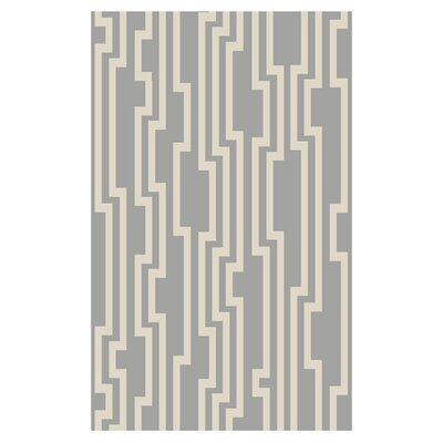 Modern Classics Flint Gray Area Rug Rug Size: Rectangle 5 x 8