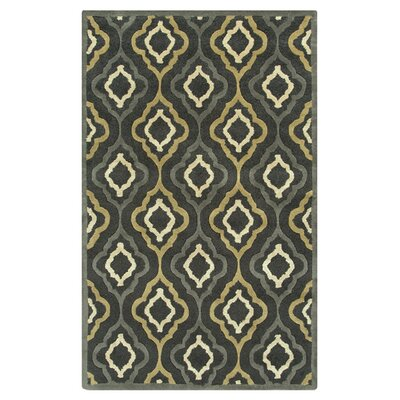 Modern Classics Midnight Green Area Rug Rug Size: Rectangle 8' x 11'