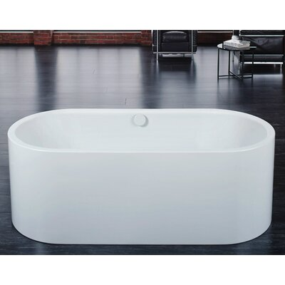 Centro Duo Oval 67 x 27.5 Bathtub