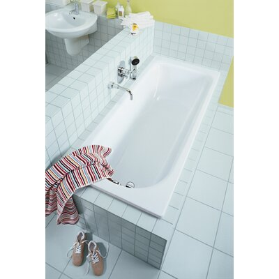 Saniform Plus 67 x 28 Soaking Bathtub