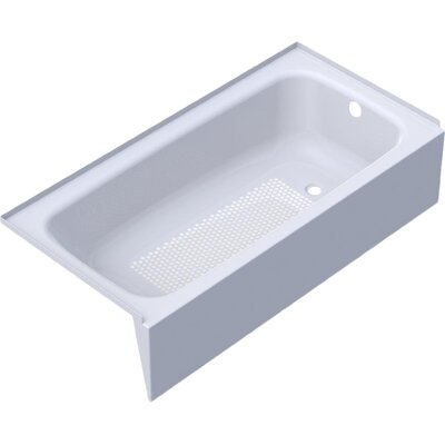 Cayono 60 x 30 Soaking Bathtub Drain Location: Left