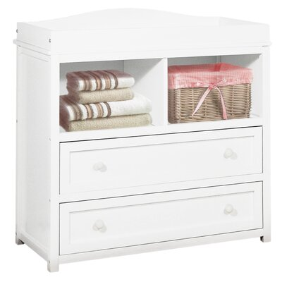 Leila I Changing Table Finish: White 008W