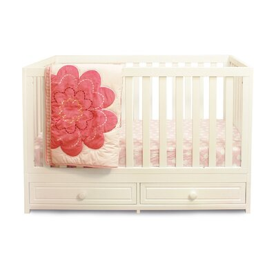 Marilyn 3-in-1 Convertible Crib Finish: White 668W
