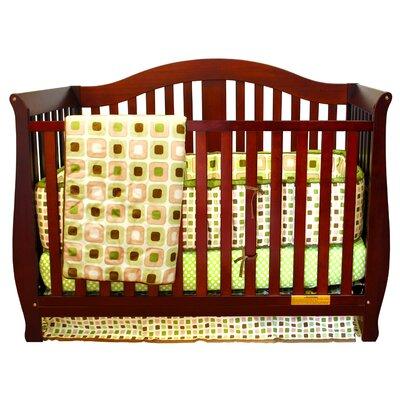 Desiree 4-in-1 Convertible Crib Finish: Cherry 309C