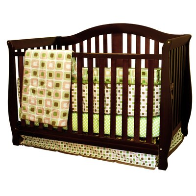 Desiree 4-in-1 Convertible Crib Finish: Espresso 309E
