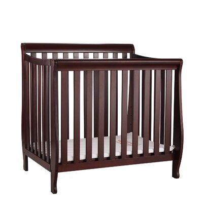 Jaden Mini Crib with Mattress Pad Finish: Cherry VVRE2699 38322412