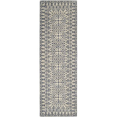 Hearst Tufted Wool Area Rug Rug Size: Runner 26 x 8
