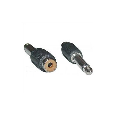 "Buy electronics adapters online - Signal Flex Electronics Phone Plug to RCA Adapters Type: 1/4"" Female to RCA Male"