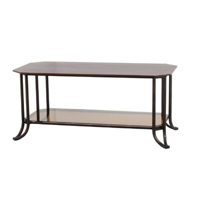 Cheap DeFi AV Delaney Coffee Table in Middleton Brown and Dark Walnut (DFV1032)