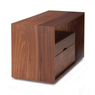Lineground Nightstand Finish: Natural Walnut