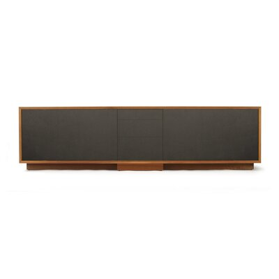 Lineground Lowdown TV Stand Wood Finish: Walnut, Style: Media Unit, Drawer Face Material: Wood