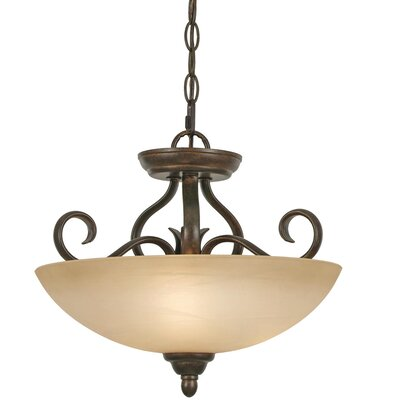 Aileen 3-Light Convertible Inverted Pendant