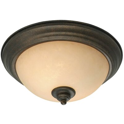 Elburn 2-Lights Flush Mount