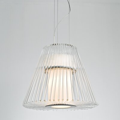 Delhi 1-Light Foyer Pendant Size: Medium