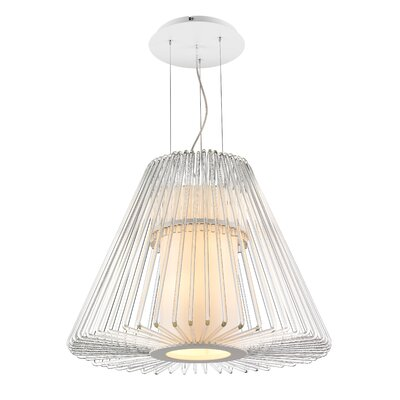 Delhi 1-Light Foyer Pendant Size: Large