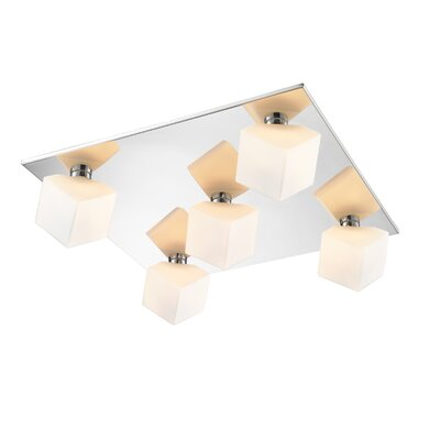 Volga 5-Light Flush Mount