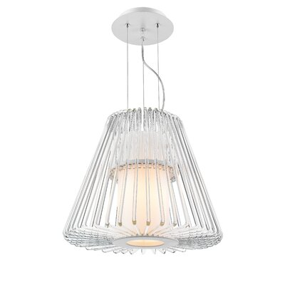 Delhi 1-Light Foyer Pendant Size: Small