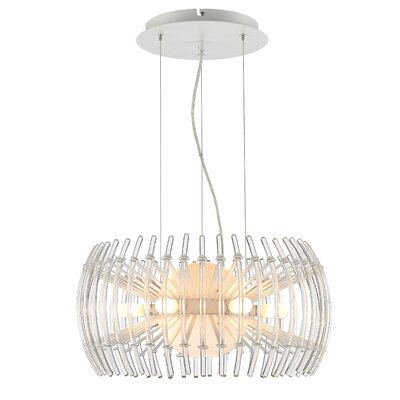 Terra 12-Light Drum Pendant Size: Small