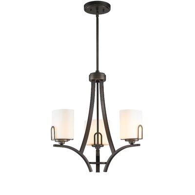 Presilla 3-Light Shaded Chandelier