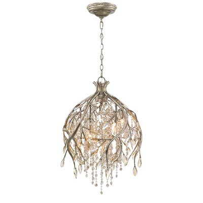 Anneliese 5-Light Crystal Pendant Finish: Mystic Gold