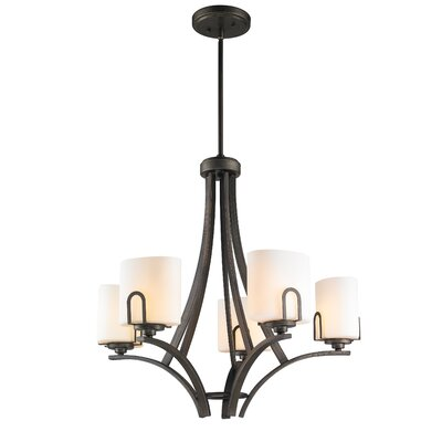 Presilla 5-Light Shaded Chandelier