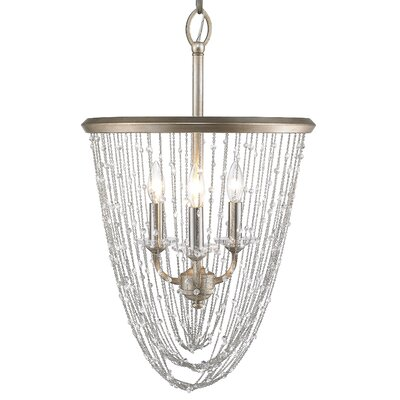 Sancerre 3-Light Crystal Pendant