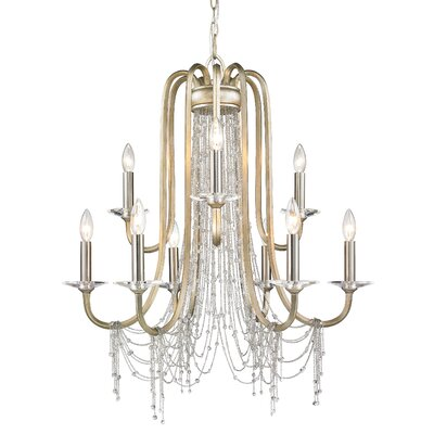 Sancerre 9-Light Crystal Chandelier