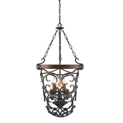 Cowan 6-Light Foyer Pendant