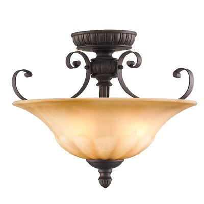 Ailith 3-Light Convertible Inverted Pendant