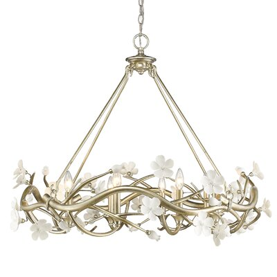 Rosmeer 8-Light Candle-Style Chandelier