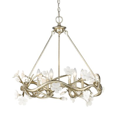 Rosmeer 6-Light Candle-Style Chandelier