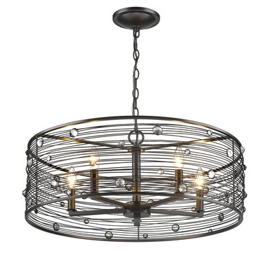 Kendra 5-Light Drum Chandelier