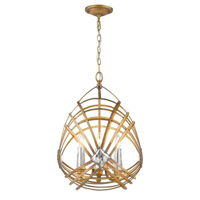 Alan 4-Light Foyer Pendant