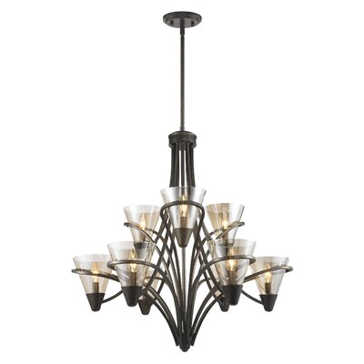 Olympia 9-Light Candle-Style Chandelier