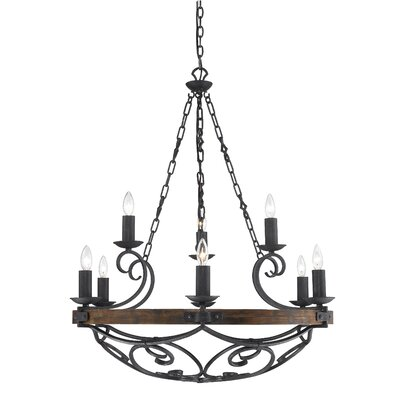 Cowan 9-Light Candle-Style Chandelier