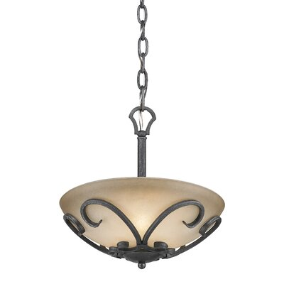 Cowan 3-Light Bowl Pendant