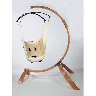 Hushamok Okoa MySeat Cotton Chair Hammock with Stand