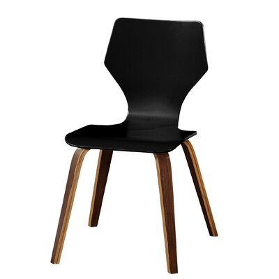 Asti Side Chair Finish: Turquiose/Walnut
