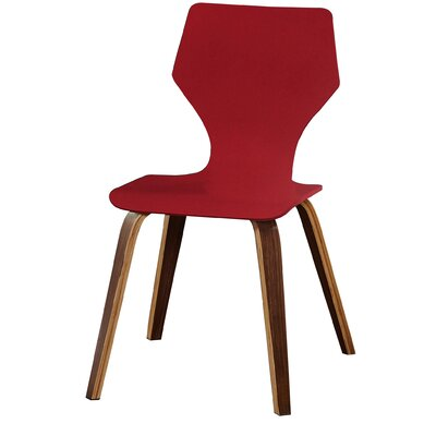 Asti Side Chair Finish: Red