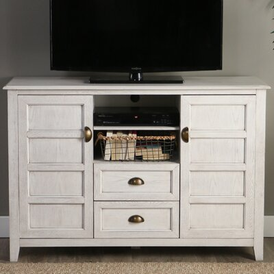 Chic 52 TV Stand Color: White