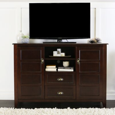 Chic 52 TV Stand Color: Coffee