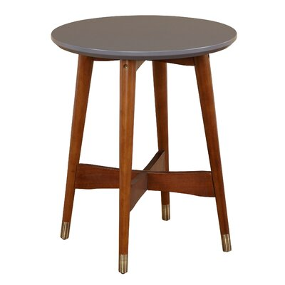 angelo:Home End Table Top Color: Gray