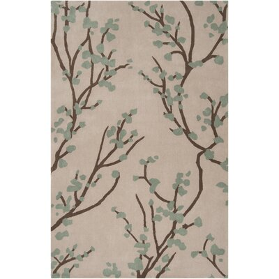 Hudson Park Dried Oregano Area Rug Rug Size: Rectangle 2' x 3'